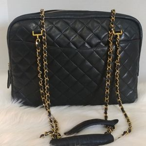 CHANEL VINTAGE CAMERA BAG LARGE